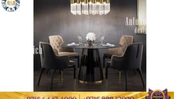 Luxurious furniture design for dining room