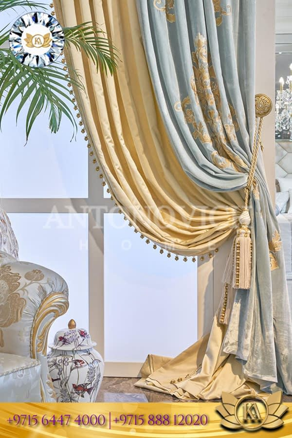 Royal Style Curtain Design