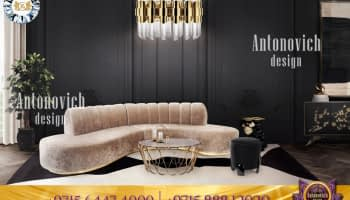 Luxury home styling with the best sofa design selections