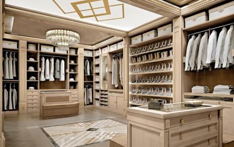 Classic Brown Wardrobe