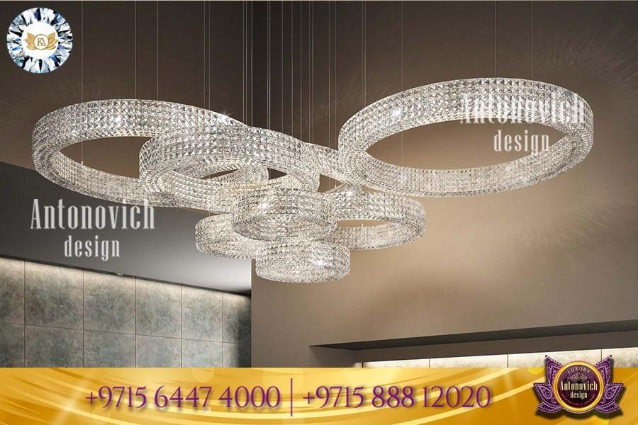 Prestigious chandelier design